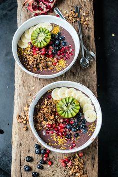 ... acai bowl (gf, df, vgn, rsf) ...