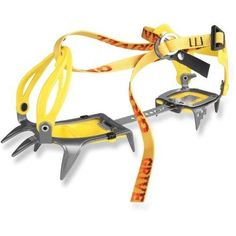 Grivel G-10 New-Classic Crampons.  If you like yellow straps.