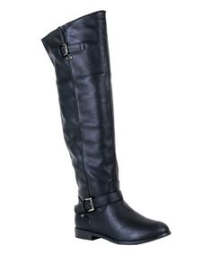 Take a look at this Black Liz Boot on zulily today!