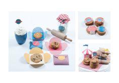 Carnival Cookies Packaging by Celia Arellano, via Behance