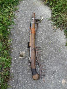 Post apocalyptic custom rifle builds - Album on Imgur
