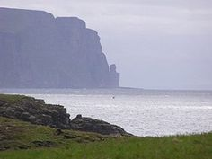 Scotland - Sea scapes of Orkney and Shetland Islands.