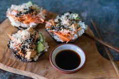 Vegan Deli Sliced Turkey Breast — 86 Eats Tofu Sushi, Vegan Sushi, Sliced Roast Beef, Sliced Turkey, Vegan Cabbage Rolls, Vegan Turkey, Vegan Meatloaf