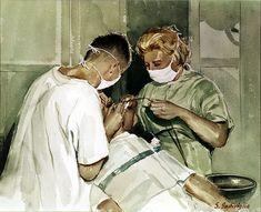 Dentist Watercolor