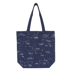 Constellation Canvas Tote Bag — MUSEUM OUTLETS