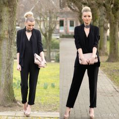 http://www.femme-noble.de/back-to-black New Post online modebloggerin Bloggerin fashion streetstyle elegant Business Blog mode