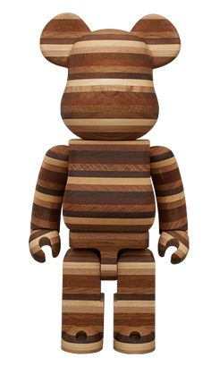 Wooden bearbrick