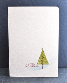 Stampin' Up ideas and supplies from Vicky at Crafting Clare's Paper Moments: Lovely as a tree