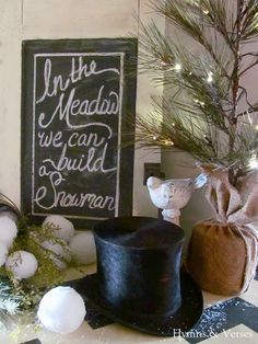 Hymns and Verses: In the Meadow We Can Build a Snowman