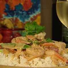 Try+this+Lemongrass+Prawn+Curry+recipe+by+Chef+Naomi+Crisante.+This+recipe+is+from+the+show+Alive+and+Cooking.