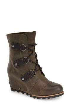 Sorel winter boots for women: Joan of Arctic wedge bootie
