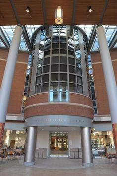 Atrium Of Life Science Bldg Syracuse University