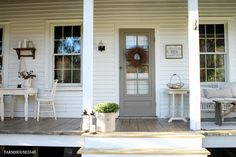 FARMHOUSE 5540: Our Farmhouse Front Porch
