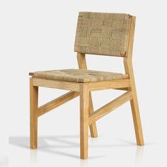 Silla de madera tejida: X'tilu. Una bella forma de vestir tu comedor