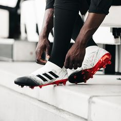 The new Initiator Pack has arrived, featuring NEMEZIZ 360 AGILITY, Initiator Predator and in fresh white, black and red colorways. Football Shoes, Soccer Cleats, Cool Boots, American Football, Pitch, Liverpool, Brazil, Adidas Sneakers, Explore