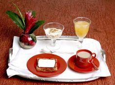 A mesa do café da manhã no dia-a-dia