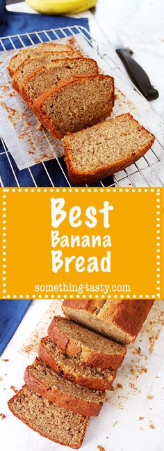 The Best Banana Loaf Cake recipe that everyone will love. Plus, you can have it at breakfast, lunch and dinner! Moist Banana Bread, Banana Bread Recipes, Cake Recipes, Lunches And Dinners, Meals, Loaf Cake, Vegetarian, Tasty, Baking