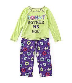 Komar Kids 716 Donut Bother Me Pajama Set #Dillards