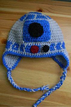 R2-D2 Earflaps Hat