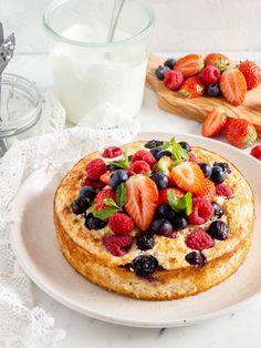 Breakfast Bake, Sweet Breakfast, Healthy Cake, Healthy Sweets, I Love Food, Good Food, Yummy Food, Vegan Baking, Healthy Baking