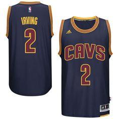 bdf53ed2456 Kyrie Irving Cleveland Cavaliers adidas Player Swingman Alternate Jersey -  Navy