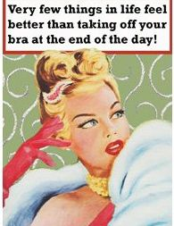 Very few things in life feel better than taking off your bra at the end of the day!