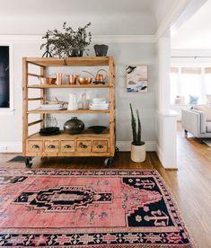 "Persian rug 4'5"" x 8'7"" by Loom + Kiln"