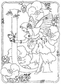 coloring page Alphabet fairies on Kids-n-Fun. Coloring pages of Alphabet fairies on Kids-n-Fun. More than coloring pages. At Kids-n-Fun you will always find the nicest coloring pages first! Coloring Letters, Alphabet Coloring Pages, Printable Coloring Pages, Coloring Books, Fairy Coloring Pages, Coloring Pages For Kids, Disney Princess Coloring Pages, Free Coloring Sheets, Flower Fairies