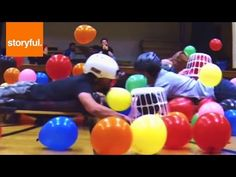 ▶ Human Hungry Hippos - YouTube  If this would be too much for the students, it might be an awesome staff activity. RA/TA bonding may haps?