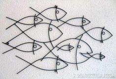 Wanddecoratie: Tropische Vissen - Maanvissen (nieuw)
