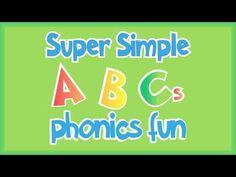 Super Simple ABCs Phonics Fun: J-R