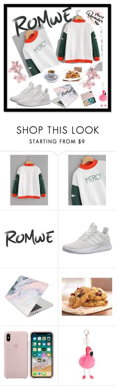 """""""Romwe"""" by dijana1786 ❤ liked on Polyvore featuring adidas NEO and Recover"""