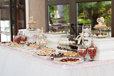 Vanilla, Table Settings, Events, Candy, Bar, Table Decorations, Home Decor, Decoration Home, Room Decor