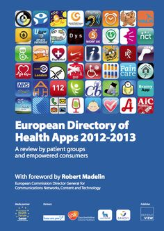 edition of the European Directory of Health Apps launched at the European Health Forum Gastein Smartphone health apps capable of helping patients self manage their medical conditions. Wellness Fitness, Health And Wellness, Health Application, Chiropractic Treatment, Communication Networks, Apps, Alternative Health, Medical Conditions, Smartphone