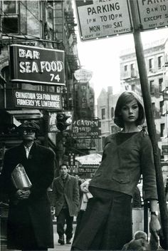 theyroaredvintage:    Jean Shrimpton by David Bailey, early 1960s.