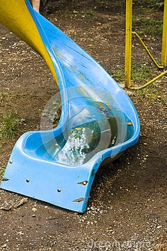 Twisted Slide With Water - Download From Over 29 Million High Quality Stock Photos, Images, Vectors. Sign up for FREE today. Image: 42667354