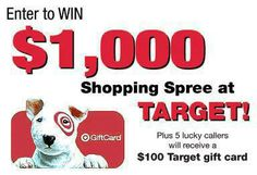 Dialing 10 digits could win you big prizes! Have a phone? Now through December 16th, enter for a chance to win a $1,000 shopping spree at Target in The Bulletin's phone-in sweepstakes! Plus 5 lucky callers will receive a $100 Target gift card. Entering the contest is easy. Call Toll Free: (877) 704-1929 No purchase necessary. Click here for rules and eligibility: http://www.scribd.com/doc/186032907/The-Bulletin-s-Great-Prize-Giveaway-Phone-In-Sweepstakes-How-To-Enter-Official-Rules