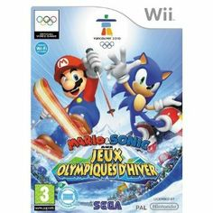 Mario & Sonic aux Jeux Olympiques d'hiver de Vancouver 2010: Nintendo Wii: Amazon.fr: Jeux vidéo