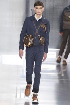 Louis Vuitton Men's RTW Fall 2015 - Slideshow