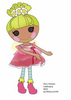 Miss Missy Paper Dolls: lalaloopsy