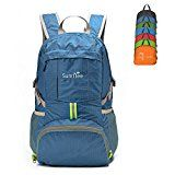 Sumtree Ultra Lightweight Foldable Packable Backpack Men and Women Durable Light Hiking Cycling Sports Travel Daypack Water Resistant Black with Grey Zipper * See this great product. Best Travel Backpack, Men's Backpack, North Face Backpack, Travel Bags, Best Hiking Backpacks, Day Backpacks, Outdoor Backpacks, Hiking Accessories, Hiking Essentials