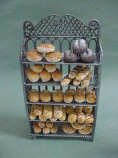 Bread Rack by Deb Stenholm 1:12 Scale