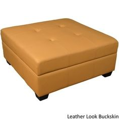 Vanderbilt 36-inch Square Hinged Storage Bench/ Ottoman - Free Shipping Today - Overstock.com - 13414355 - Mobile