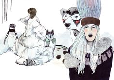 Laura Laakso illustrations!!