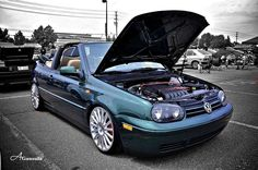****Your Baller and slammed Cabrio pics please**** Cabrio Volkswagen, Vw Golf Cabrio, Vw Mk4, Volkswagen Golf, Vw Golf 3, Golf Mk3, Vw Cabriolet, Convertible, Blue Boots