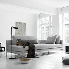 Tab floor lamp by Barber+ Osgerby, UK
