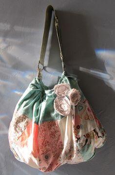 Transforme uma saia em uma bolsa!
