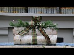 Jessie Jacobson, general manager of Tonkadale Greenhouse, shows how to create a birch log bundle to enjoy for the fall and holiday season. Birch Decorations, Birch Tree Decor, Log Decor, Branch Decor, Christmas Log, Outdoor Christmas, Christmas Crafts, Christmas Decorations, Christmas Tables