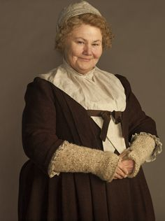 """Mrs. Glenna Fitzgibbons (Annette Badlands),  called by all """"Mrs Fitz."""". The housekeeper of the castle for decades. Manages all domestic concerns and functions as head cook and butler, too. 