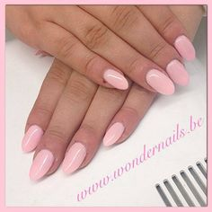 Soft pink stiletto nails ❤️ So pretty